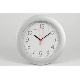 GREEN E nástěnné hodiny 25 cm stříbrné
