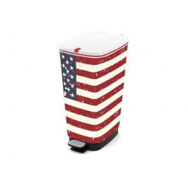 KIS Chic Bin L koš na odpad 60 L, American Flag