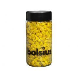BOLSIUS dekorační kamínky žluté 9-13mm 550g