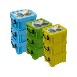 Skladovací box 8,5x6x14,5cm - sada 3 kusy