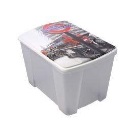 ArtPlast M76LON Miobox úložný box 56,5 x 35 x 39 cm, Londýn