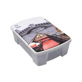 ArtPlast M41VE Miobox úložný box 56,5 x 18 x 39 cm, Benátky