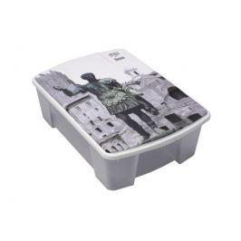 ArtPlast M41RM Miobox úložný box 56,5 x 18 x 39 cm, Řím
