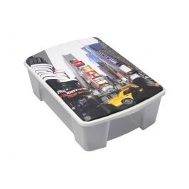 ArtPlast M41NY Miobox úložný box 56,5 x 18 x 39 cm, New York