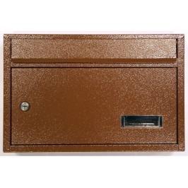 WETRA-XT PS05-4 poštovní schránka Imperial, hnědá