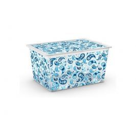 KIS C Box Style XL úložný box 50 L s kolečky, Paisley