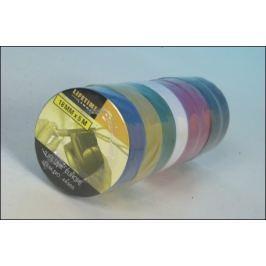 Sada barevných izolačních pásek PVC - 8ks