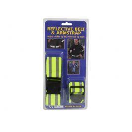 Sada reflexních bezpečnostních pásků Reflexní pásky a klipy
