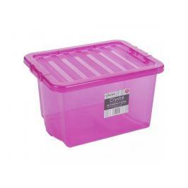 WHAM 12322 Box s víkem 24 l, růžová