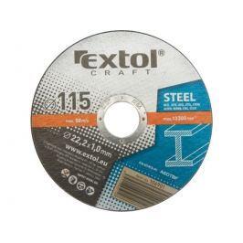 EXTOL CRAFT 125x1,0x22,2mm Kotouče řezné na kov