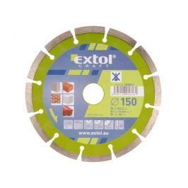 EXTOL CRAFT Kotouč diamantový řezný segmentový, 150 mm