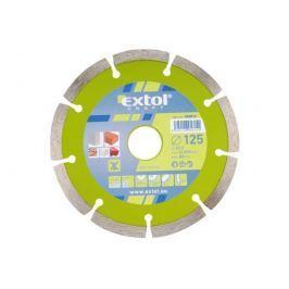 EXTOL CRAFT Kotouč diamantový řezný segmentový, 125 mm