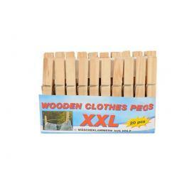 Dřevěné kolíčky na prádlo 20ks
