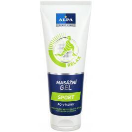 Alpa Sport Star Relax Sport po výkonu masážní gel s mentolem, methylsalicylátem a bylinný extrakty 210 ml