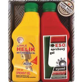 Bohemia Gifts & Cosmetics Helík sprchový gel 250 ml + Eso sprchový gel pro opravdové muže 250 ml, dárková sada