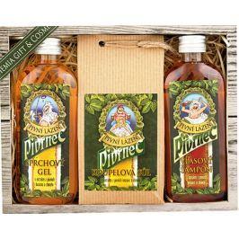 Bohemia Gifts & Cosmetics Pivrnec sprchový gel 100 ml + Koupelová sůl 150 g + Vlasový šampon 100 ml