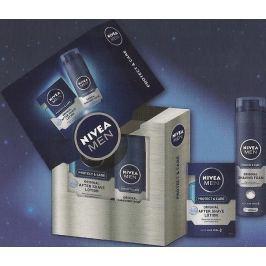 Nivea Men Lot Protect voda po holení 100 ml + pěna na holení 200 ml, kosmetická sada