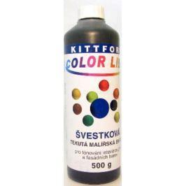 Kittfort Color Line tekutá malířská barva Švestková 500 g