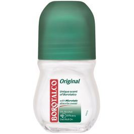 Borotalco Original kuličkový antiperspirant deodorant roll-on unisex 50 ml