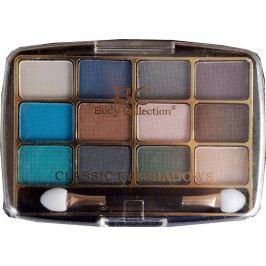 Body Collection Classic Eyeshadow Kosmetická kazeta oční stíny Set 1 12 x 1 g