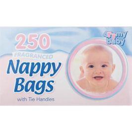Baby 4My sáčky na použité dětské pleny s vůní 250 kusů