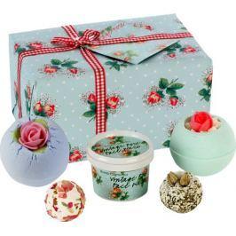 Bomb Cosmetics Plná květin mix balistiků 380 g + sprchový pleťový gel 100 ml, kosmetická sada