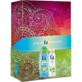 Fa Coconut Water sprchový gel 250 ml + Fresh antiperspirant deodorant sprej 150 ml, kosmetická sada