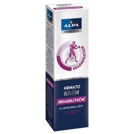 Alpa Sport Star Regeneration Hemato krém rehabilitační urychluje léčbu naraženin a podlitin 75 ml
