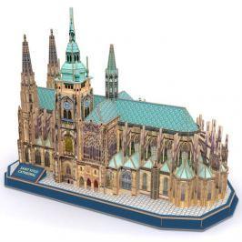 CubicFun Puzzle 3D Katedrála svatého Víta 193 dílků 39 x 20 x 29 cm Puzzle