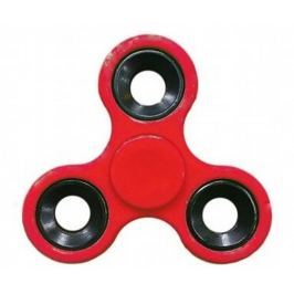 Fidget Spinner Klasik antistresová vychytávka červený 7,5 x 7,5 cm