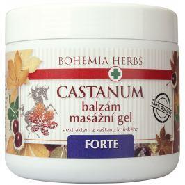 Bohemia Gifts & Cosmetics Castanum Extrakt z kaštanu koňského Forte extra silný balzám masážní gel 600 ml