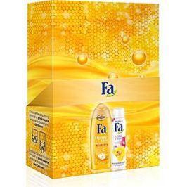 Fa Honey Elixír sprchový gel 250 ml + Floral Protect Orchid & Viola antiperspitant deodorant sprej 150 ml, kosmetická sada
