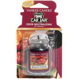 Yankee Candle Black Cherry - Zralé třešně gelová vonná visačka do auta 30 g