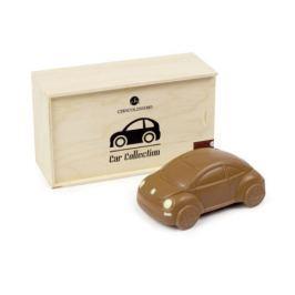 Chocolissimo - Čokoládová figurka VW Brouka v dřevěné skřínce 125 g