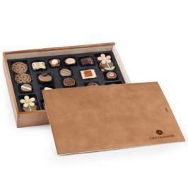 Chocolissimo - Sada čokoládových pralinek v elegantní dřevěné skřínce 340 g