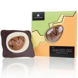 Chocolissimo - Čokoládové křupnuté velikonoční ořechové vajíčko 130 g