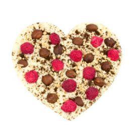 Chocolissimo - Čokoláda s kousky ořechů a malinami 200 g