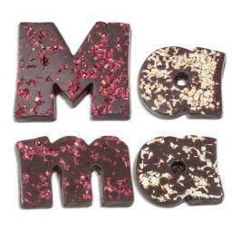 Chocolissimo - Čokoládový nápis pro mámu - hořký 80 g