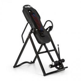 Klarfit Ease Delux, inverzní lavice, gravitační posilovací lavice, do 136 kg, 1,54–1,98 m, černá