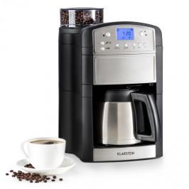 Klarstein Aromatica Thermos kávovar, mlýnek, termoska, aroma +, ušlechtilá ocel