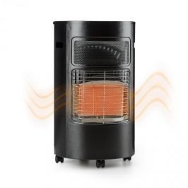 Blumfeldt Bonaparte, plynové kamna, keramický hořák, infračervený, do 4,2kW, černé