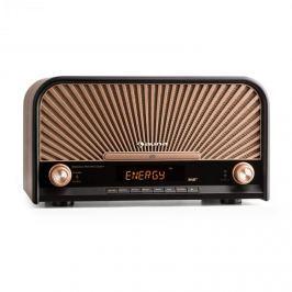 Auna Glastonbury retro stereo zařízení DAB + FM bluetooth CD MP3 přehrávač