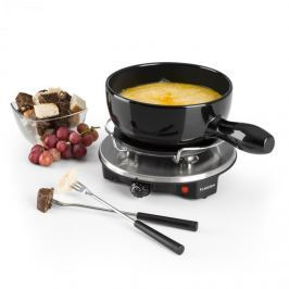 Klarstein Sirloin Raclette s fondue, keramický hrnec, 1200 W, černá barva