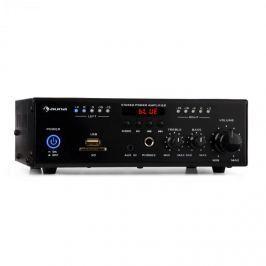 Auna Amp4 BT, mini stereo zesilovač, bluetooth, dálkové ovládání, černý