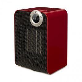 Klarstein Cozy Cube, keramický ohřívač, teplovzdušný, 900 / 1800W, náklon, 10-35 ° C, červený