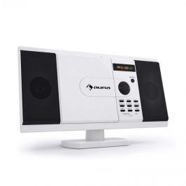 Auna MCD-82 DVD přehrávač, stereo zařízení, USB, SD, bílá barva