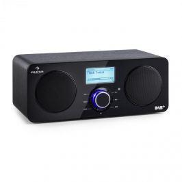 Auna Worldwide Stereo internetové rádio Spotify Connect App Control BT černá barva