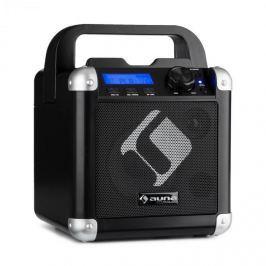 Auna BC-1, karaoke systém, bluetooth, baterie, držadlo, USB, AUX vstup, černý