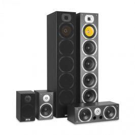 Auna V9B, prostorové (surround) reproduktory, set 5 boxů, 440W RMS, černé