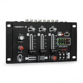 Resident DJ DJ-21 BT DJ-mixér mixážní pult, bluetooth, USB, černá barva
